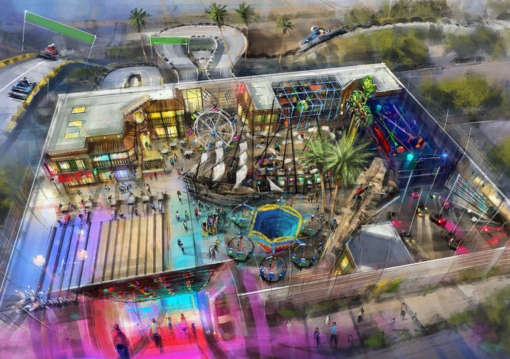 Project Update- The Cove Family Fun Center - PHX Architecture
